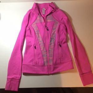 Ivivva pink sports jacket